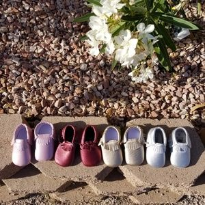 Other - 4 pairs of baby moccasins size 2